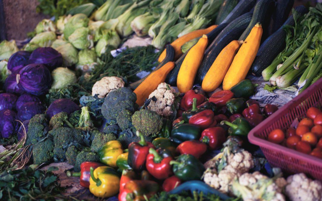 Diciembre: Frutas y verduras de temporada